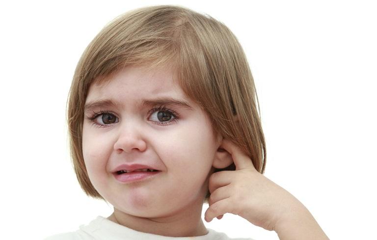 Trẻ em là đối tượng mắc viêm tai giữa nhiều nhất