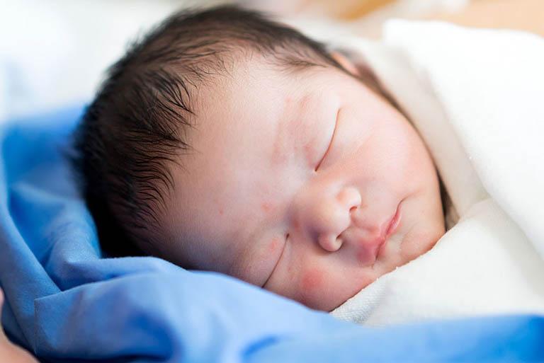 Sự phát triển của thai nhi bị ảnh hưởng