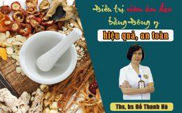 Bác sĩ Đỗ Thanh Hà điều trị viêm phụ khoa bằng Đông y cho phụ nữ Việt