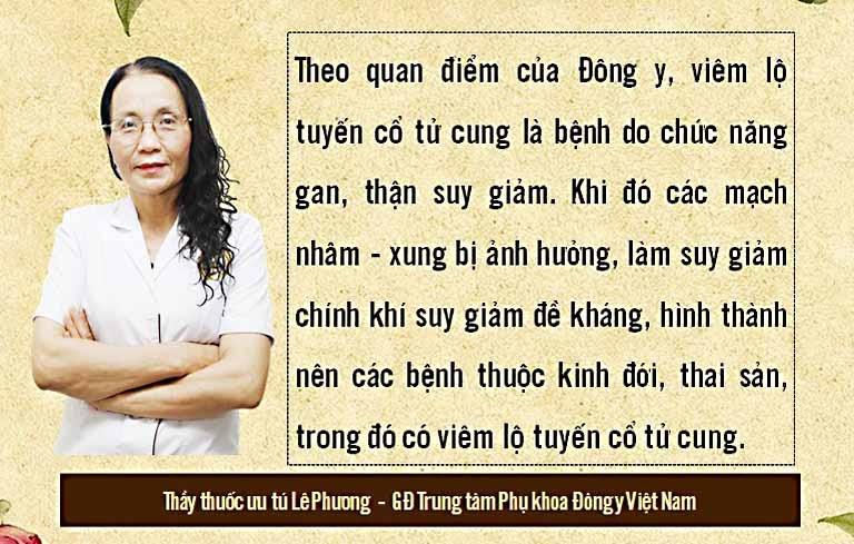Bác sĩ Lê Phương chia sẻ viêm lộ tuyến cổ tử cung