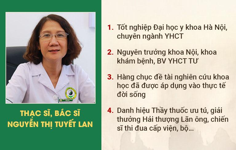 Chân dung chuyên gia tiêu hóa - Ths,Bs Nguyễn Thị Tuyết Lan