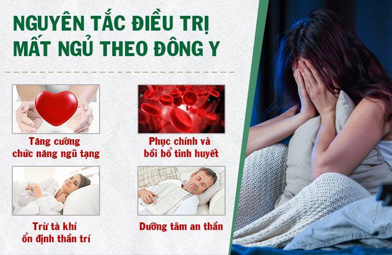 Nguyên tắc điều trị mất ngủ bằng Đông y