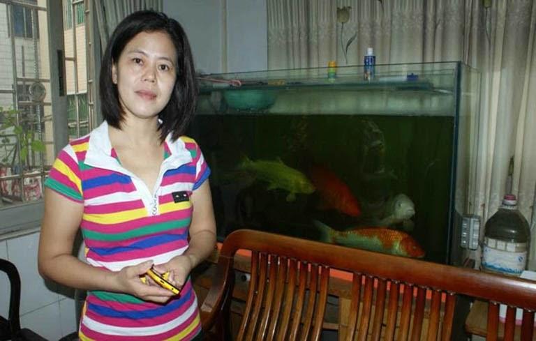 Chị Lương sau khi chữa khỏi bệnh tại Trung tâm Phụ khoa Việt Nam