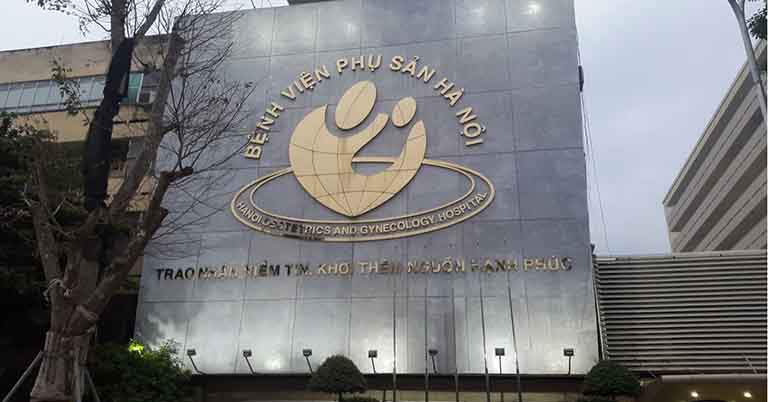Bệnh viện Phụ sản Hà Nội có địa chỉ tại số 929, đường La Thành, phường Ngọc Khánh, quận Ba Đình