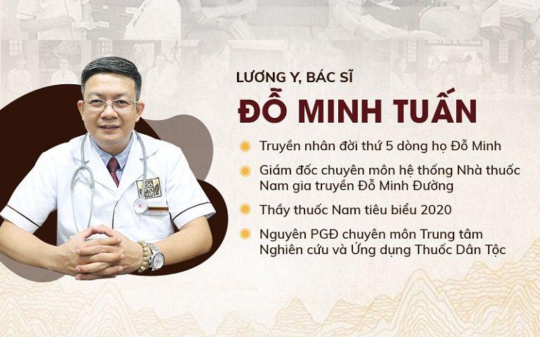 Lương y Đỗ Minh Tuấn - Danh y với nhiều năm kinh nghiệm trong khám chữa các bệnh sinh lý nam