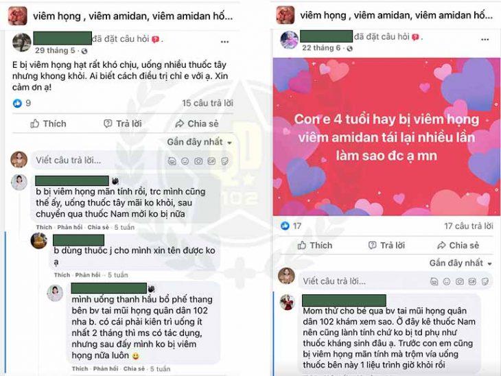 Thanh hầu bổ phế thang được chia sẻ rộng rãi trên mạng xã hội