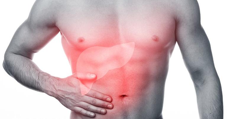 Gan nhiễm mỡ có thể gây đau đớn tại hạ sườn bên phải
