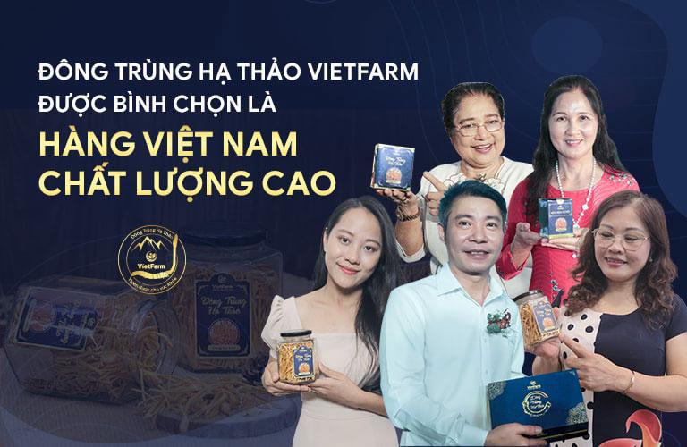 nghệ sĩ Việt tin dùng Đông trùng hạ thảo Vietfarm