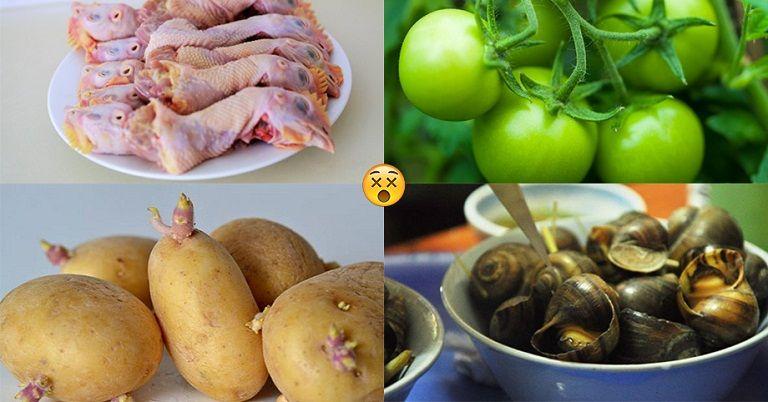 Thực phẩm độc hại có thể gây phình đại tràng