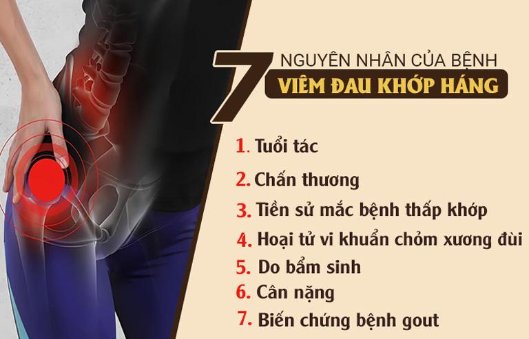Nguyên nhân viêm đau khớp gối phổ biến