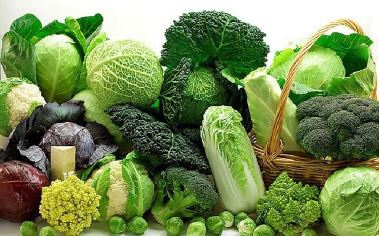 Rau xanh giúp giảm viêm loét dạ dày nhanh chóng