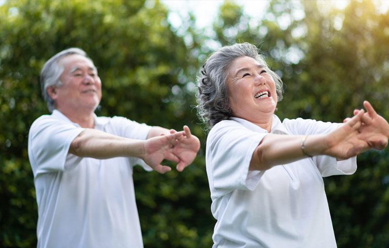 Tập thể dục thường xuyên hạn chế bệnh rối loạn tiền đình ở người già