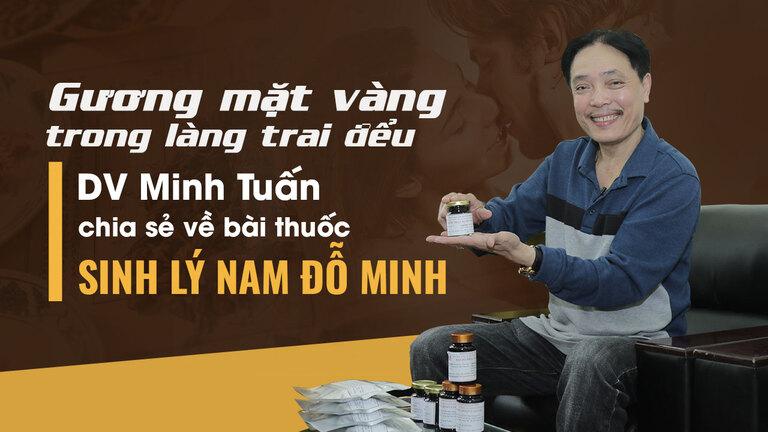 Diễn viên Minh Tuấn tin tưởng lựa chọn bài thuốc của Đỗ Minh Đường