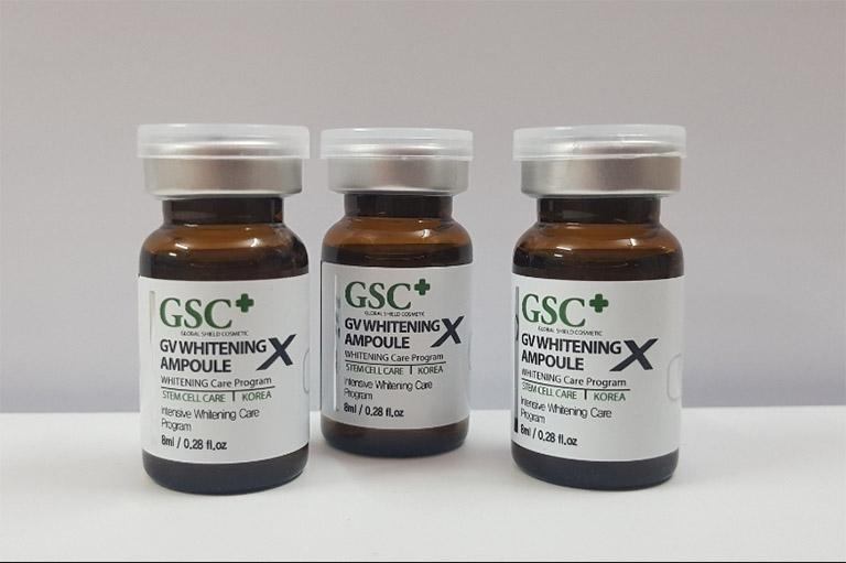 Tế bào gốc trị nám GSC của Hàn Quốc được chiết xuất từ tế bào gốc từ các dược liệu có sẵn trong tự nhiên rất an toàn khi sử dụng, kể cả da nhạy cảm
