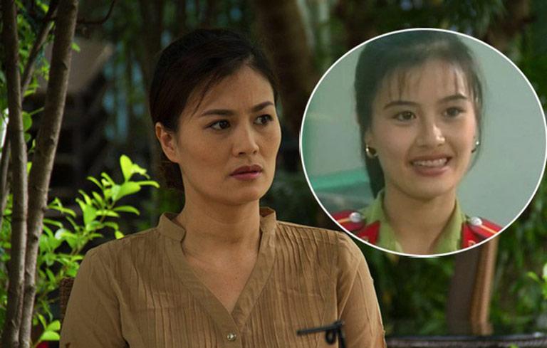 Diễn viên Hoa Thúy từng nổi tiếng với vai diễn cô cảnh sát Thu Hiền trong phim Cảnh sát hình sự