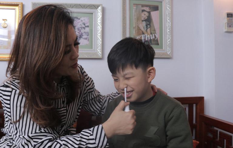 Cô cũng cho con trai sử dụng thuốc Đỗ Minh Đường