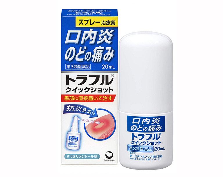 Thuốc xịt miệng Traful là một sản phẩm có xuất xứ từ Nhật Bản