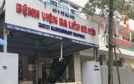 Bệnh viện da liễu Hà Nội tập trung nhiều bác sĩ giỏi, là địa chỉ lý tưởng của bệnh bị dị ứng