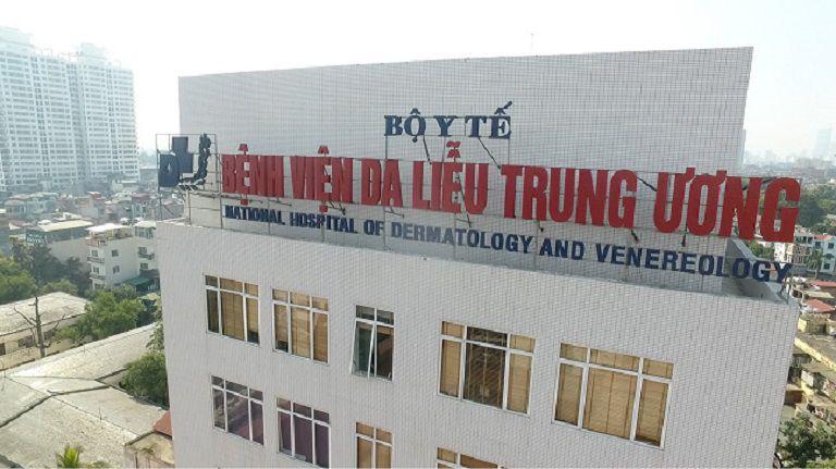 Bệnh viện da liễu trung ương là địa chỉ chữa dị ứng hàng đầu của cả nước
