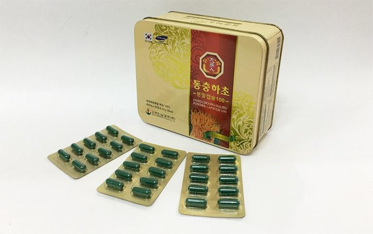Viên uống Bio - Science là sản phẩm có nguồn gốc từ nước Hàn Quốc, được chiết xuất 100% từ bột đông trùng hạ thảo