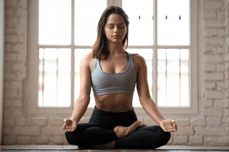 Thiền trong yoga có tác dụng chữa mất ngủ