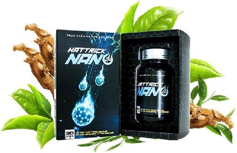 Hattrick Nano cải thiện tinh trùng yếu và tăng cường sinh lý nam giới