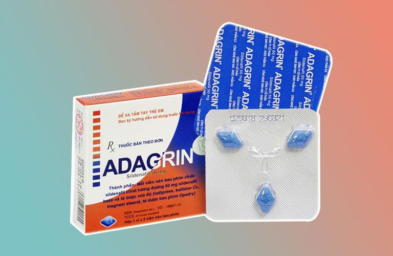 Thuốc chữa liệt dương Adagrin
