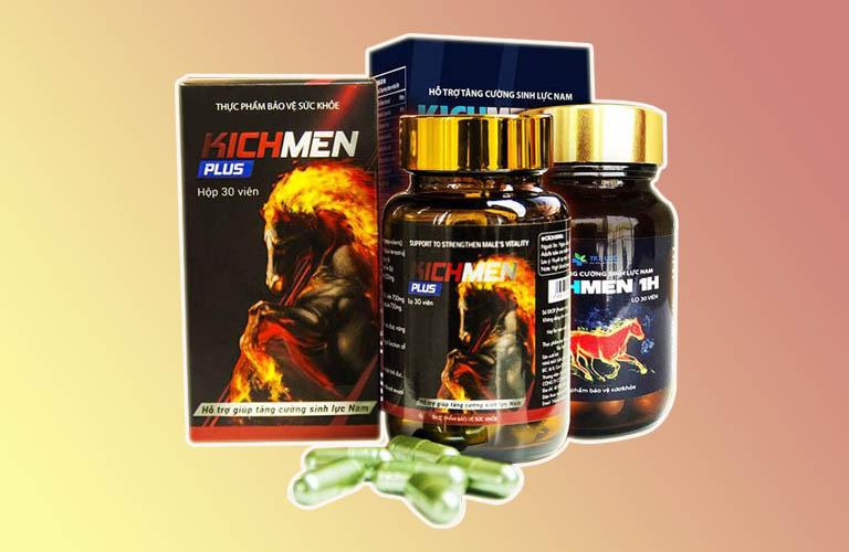 Kichmen plus giúp phái mạnh lấy lại phong độ nhanh chóng