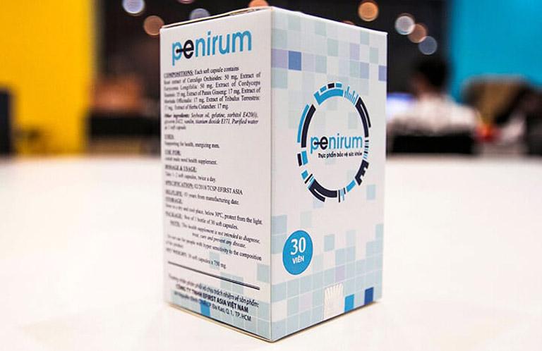 Thuốc chống xuất tinh sớm Penirum được nhiều nam giới tin dùng để kéo dài thời gian quan hệ