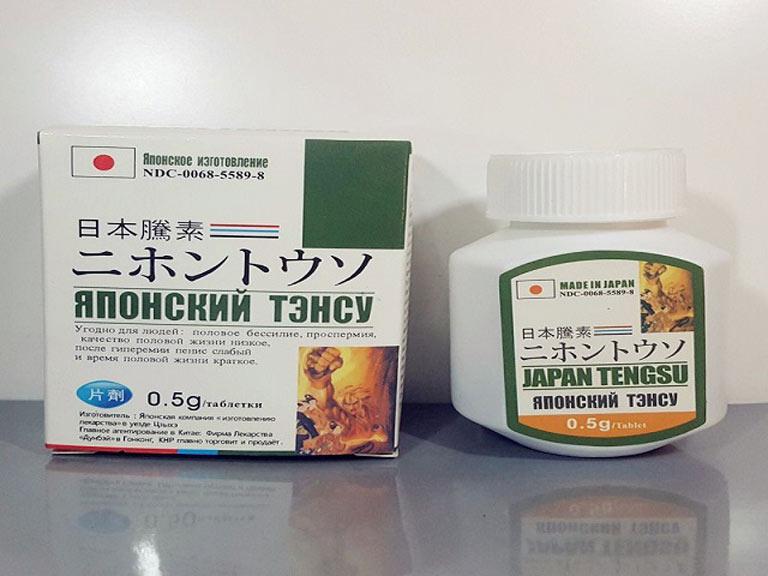 Japan TengSu là thuốc cường dương của Nhật