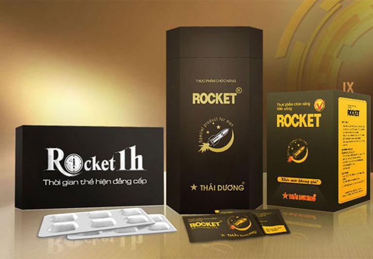 Thuốc cường dương Rocket 1h có thành phần từ thảo dược
