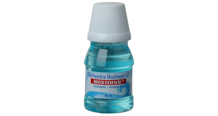 chlorhexidine súc miệng