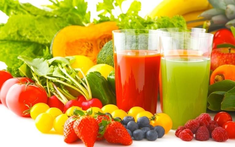 Bị dị ứng da mặt nên ăn gì: Bổ sung nhiều rau xanh và hoa quả