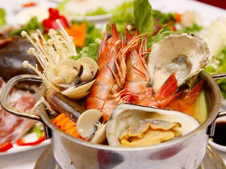 Khi bị dị ứng hãy tránh xa các loại hải sản