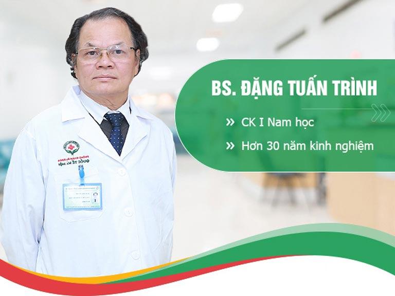 Bác sĩ Đặng Tuấn Trình - Chuyên gia nam khoa