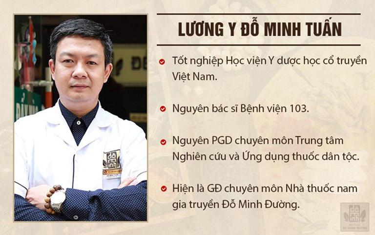 Lương y Đỗ Minh Tuấn - Giám đốc chuyên môn, truyền nhân đời thứ 5 nhà thuốc Đỗ Minh Đường