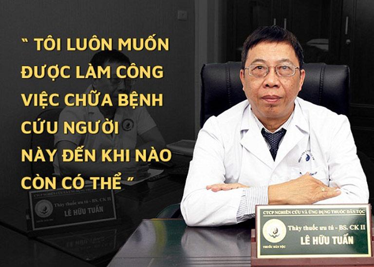 BSCK II. Lê Hữu Tuấn - Bậc thầy về chữa bệnh nam khoa bằng YHCT
