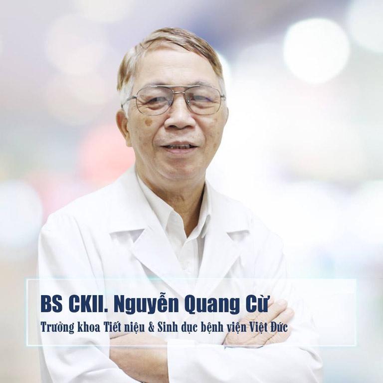 Bác sĩ nam khoa Nguyễn Quang Cừ