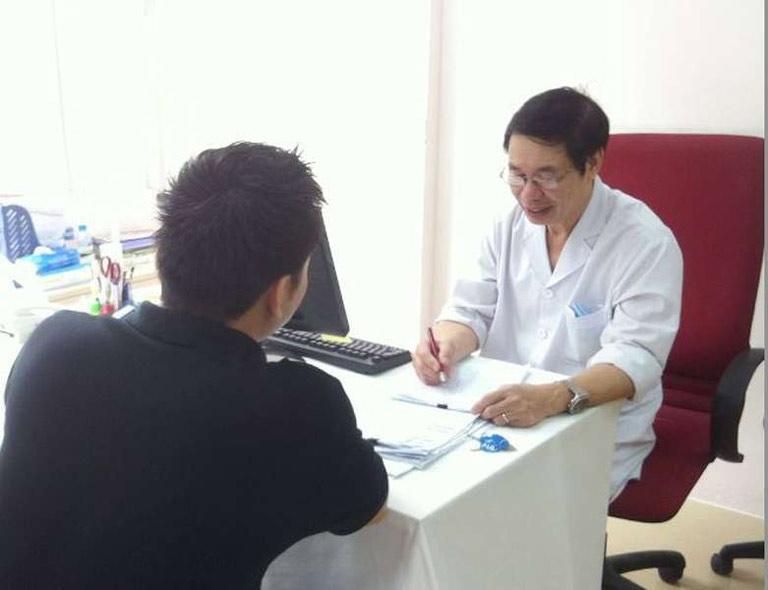 Bác sĩ chuyên khoa II Nguyễn Khắc Lợi