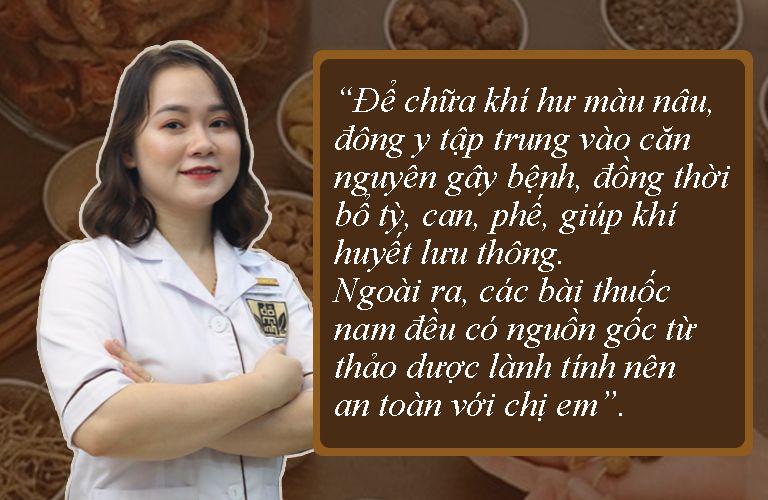 Bác sĩ Ngô Thị Hằng nói về cơ chế tác động bệnh trong đông y