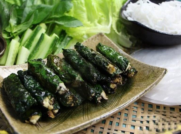 Món ăn chế biến từ lá lốt