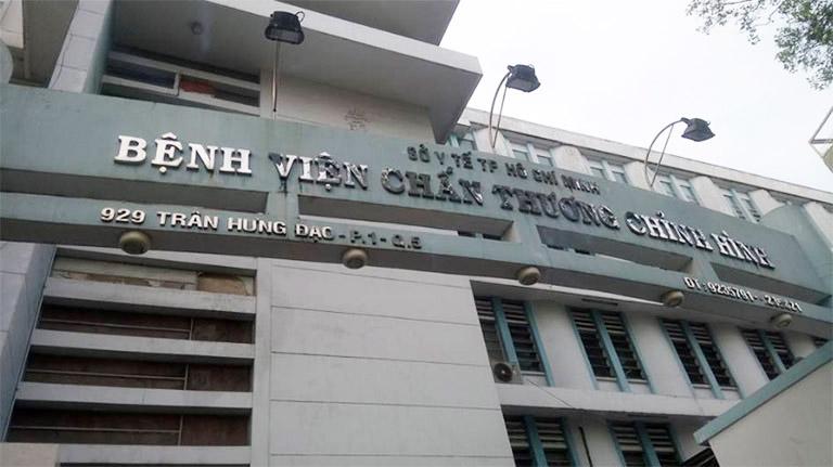 Bệnh viện Chấn thương Chỉnh hình chuyên tiếp nhận bệnh nhân khám và điều trị bệnh đau dây thần kinh liên sườn