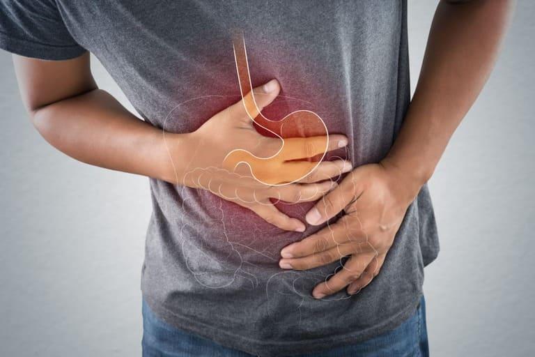 Đau thượng vị kèm tiêu chảy là bị gì?