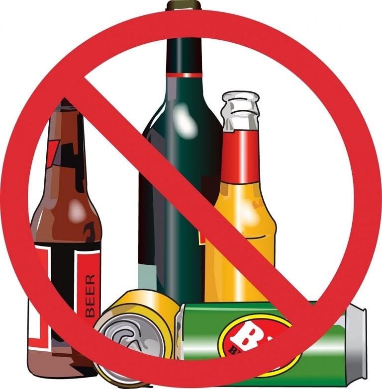 Khi bị dị ứng da mặt mẩn đỏ ngứa hãy nói không với rượu bia và chất kích thích
