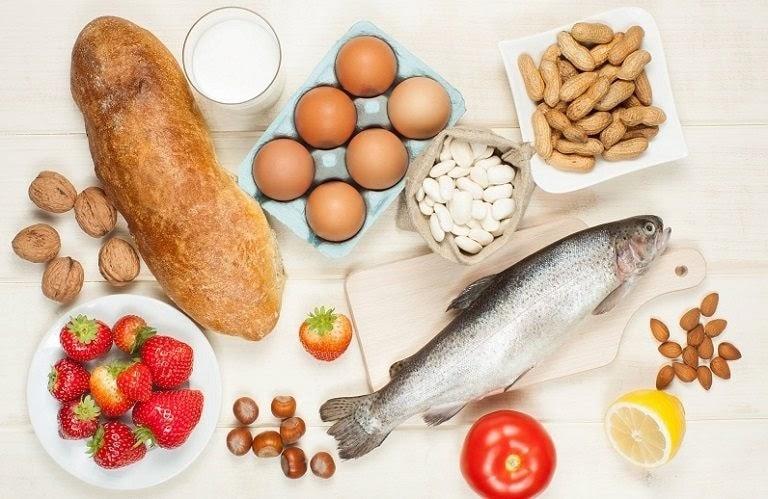 Khi bị dị ứng cần chú ý tránh xa một số loại thực phẩm