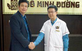 Diễn viên Lê Bá Anh và cảm ơn lương y Đỗ Minh Tuấn