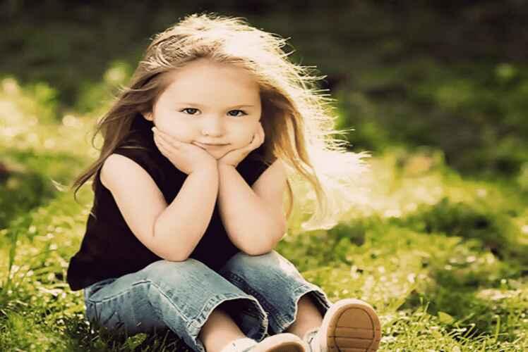 mọc tóc khi trẻ lớn