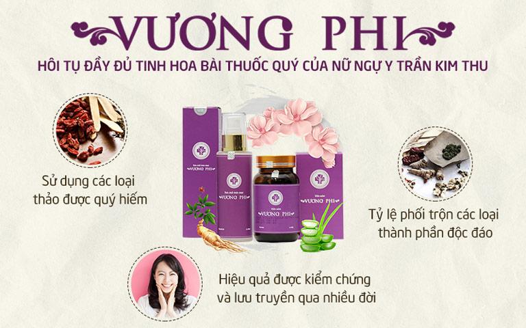 BSP Vương Phi trị nám da tàn nhang mang lại hiệu quả tận gốc