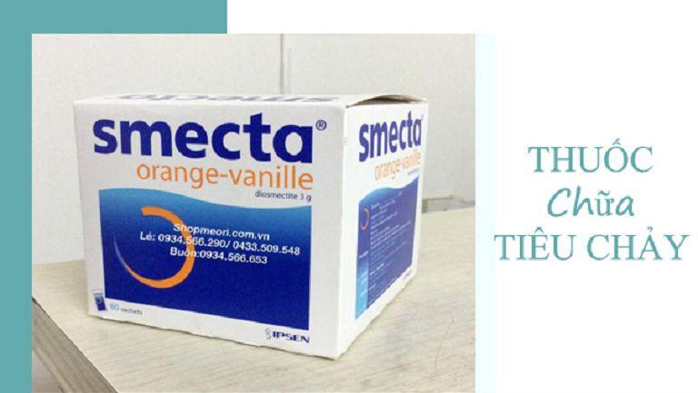 Smecta - thuộc nhóm thuốc điều trị tiêu chảy ở viêm đại tràng