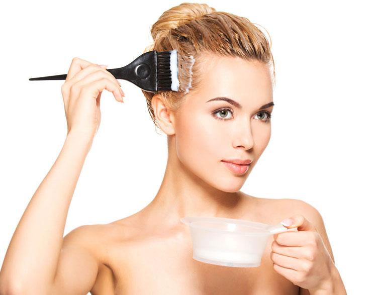 Hạn chế tác động gây hại vào tóc như sấy, uốn, nhuộm với hóa chất